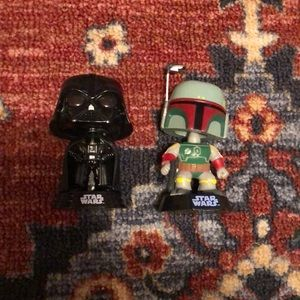 2013 year two Star Wars bobbles heads 💕❤️